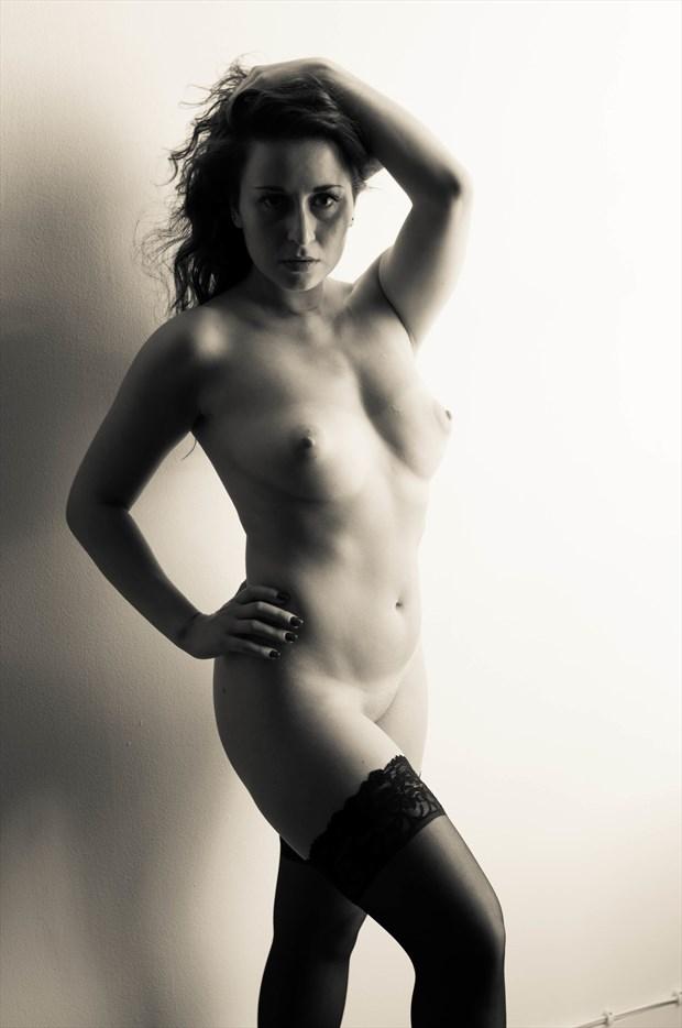 Artistic Nude Lingerie Photo by Model Amanda M Esteves