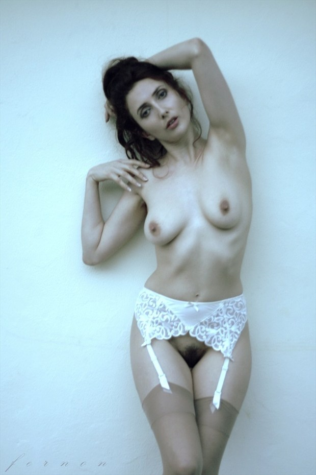 Artistic Nude Lingerie Photo by Model Anoush A