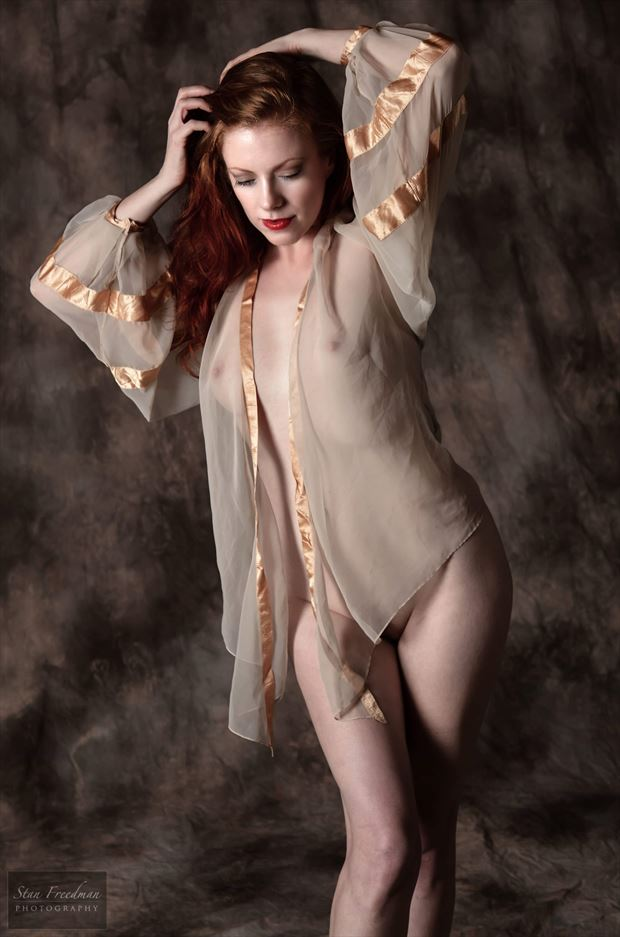 Artistic Nude Lingerie Photo by Model Augusta Monroe