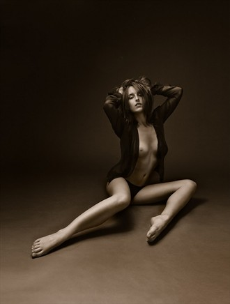 Artistic Nude Lingerie Photo by Model Axioma