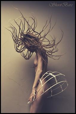 Artistic Nude Lingerie Photo by Model Jenna Kellen