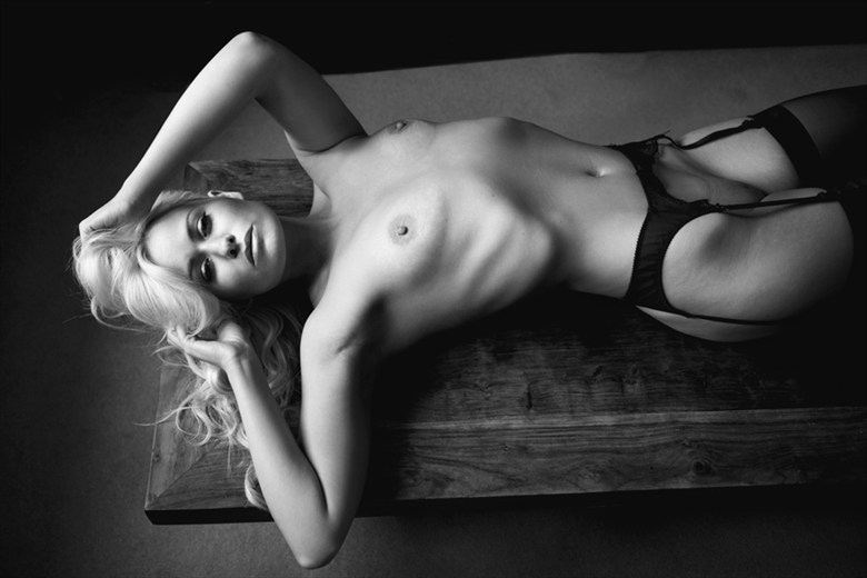Artistic Nude Lingerie Photo by Model Laura Lily