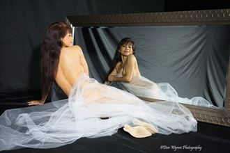 Artistic Nude Lingerie Photo by Model Lil Maria