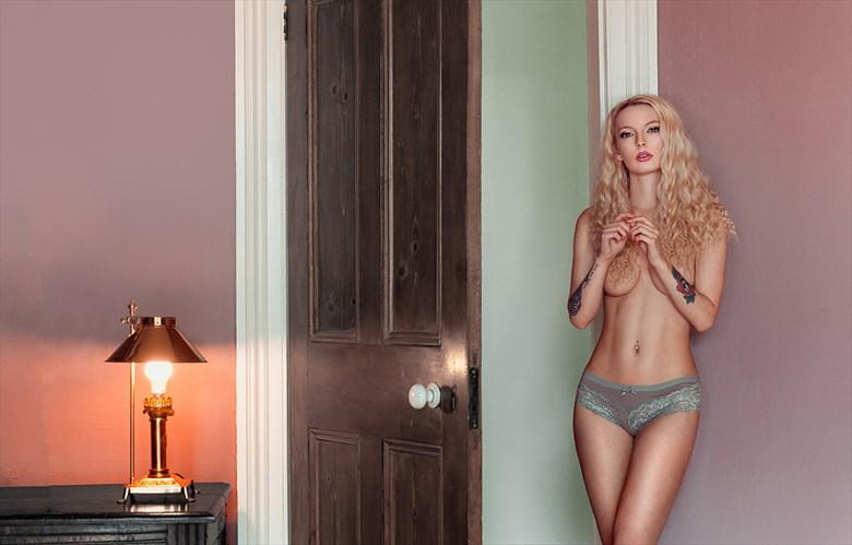 Artistic Nude Lingerie Photo by Model Natasha Oliver