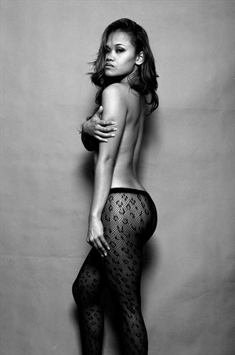 Artistic Nude Lingerie Photo by Model Trisha Yan