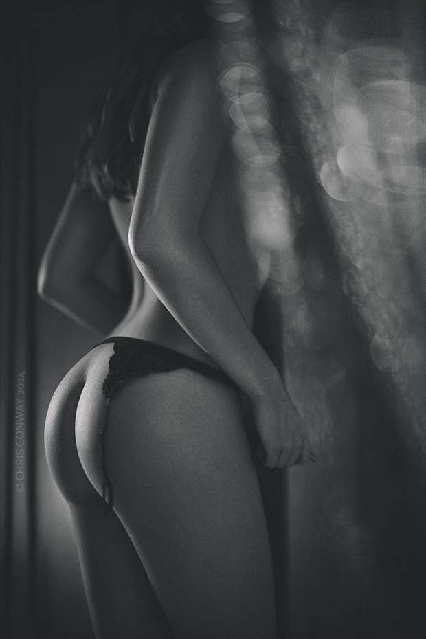 Artistic Nude Lingerie Photo by Photographer Chris Conway