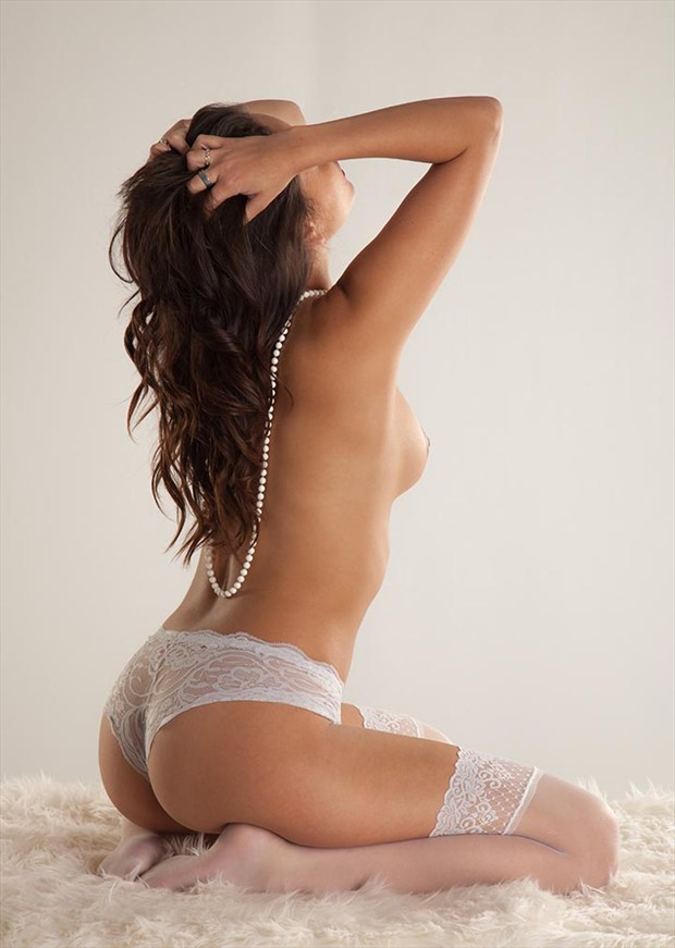 Artistic Nude Lingerie Photo by Photographer John Hacht