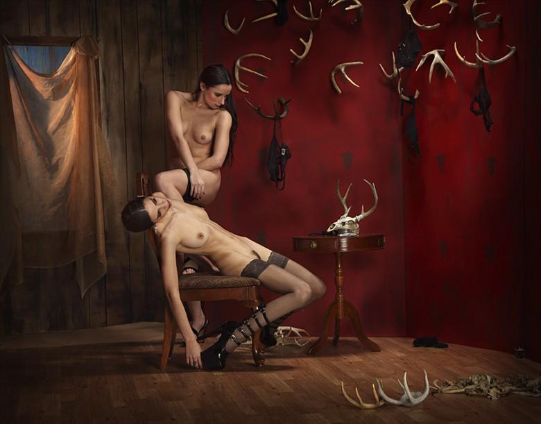 Artistic Nude Lingerie Photo by Photographer MIchael Pannier
