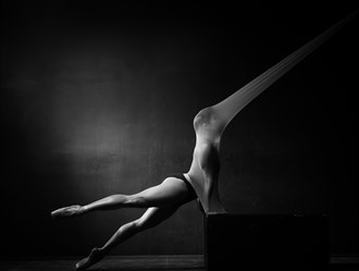 Artistic Nude Lingerie Photo by Photographer Ralph Anderson