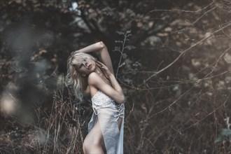 Artistic Nude Lingerie Photo by Photographer Traven Milovich