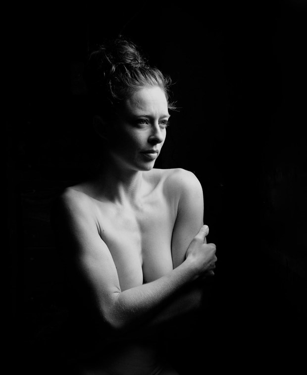 Artistic Nude Natural Light Photo by Model Bianca Black