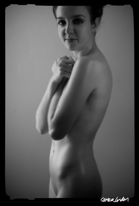 Artistic Nude Natural Light Photo by Model Cyan
