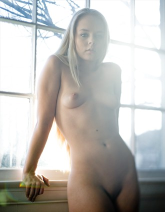 Artistic Nude Natural Light Photo by Model Jordan Bunniie