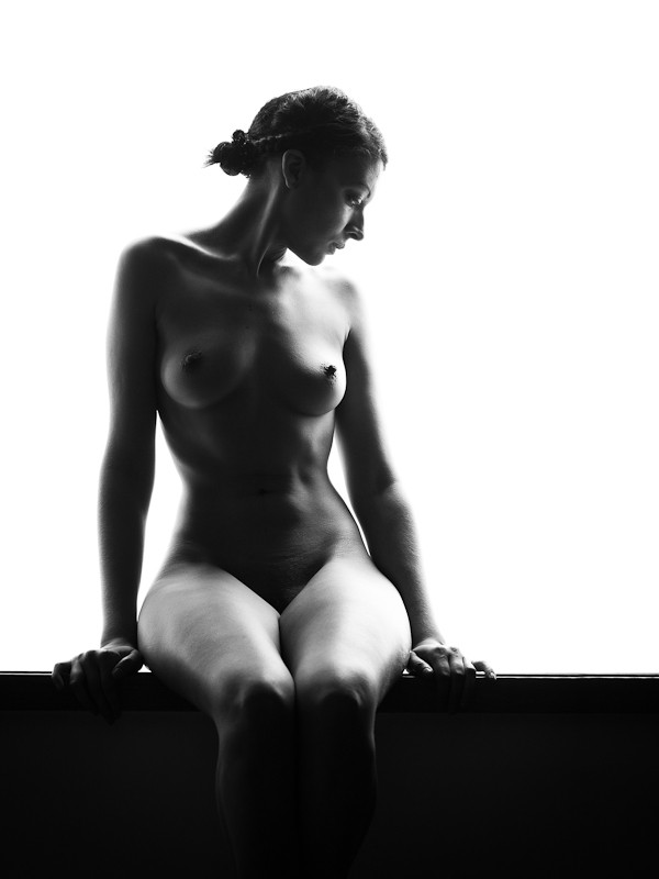 Artistic Nude Natural Light Photo by Model Mona Innominata
