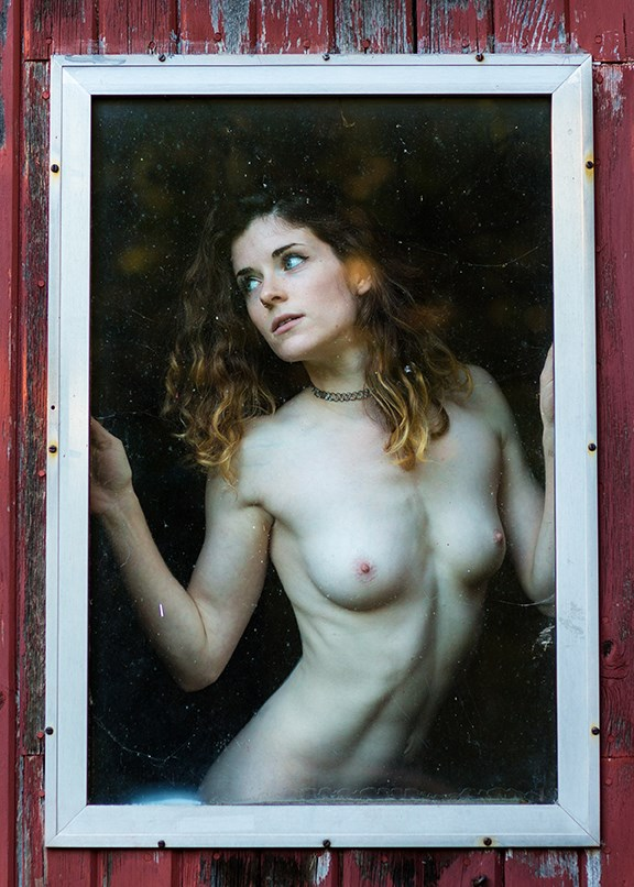 Artistic Nude Natural Light Photo by Model Stella Kat