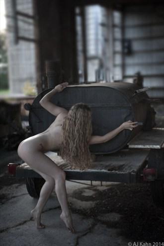 Artistic Nude Natural Light Photo by Photographer AJ Kahn