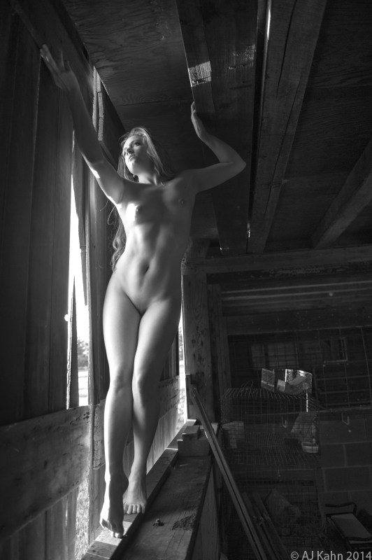 Artistic Nude Natural Light Photo by Photographer AJ Kahn