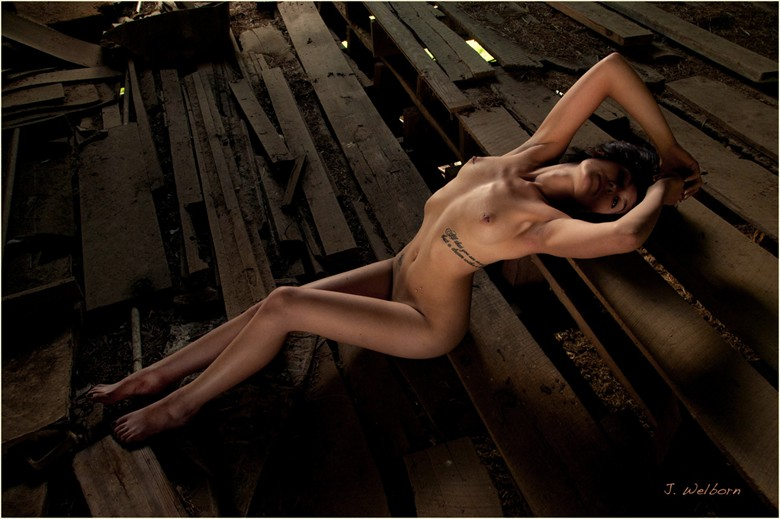 Artistic Nude Natural Light Photo by Photographer J. Welborn