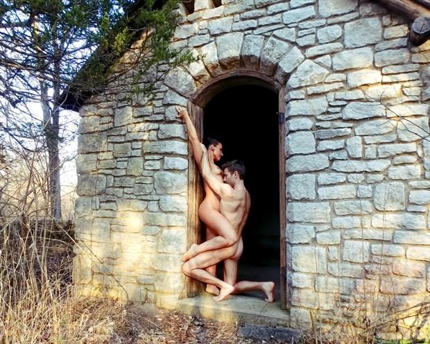 Artistic Nude Nature Artwork by Model AnayaVivian