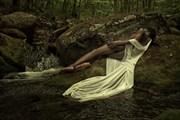 Artistic Nude Nature Artwork by Model Gazelle
