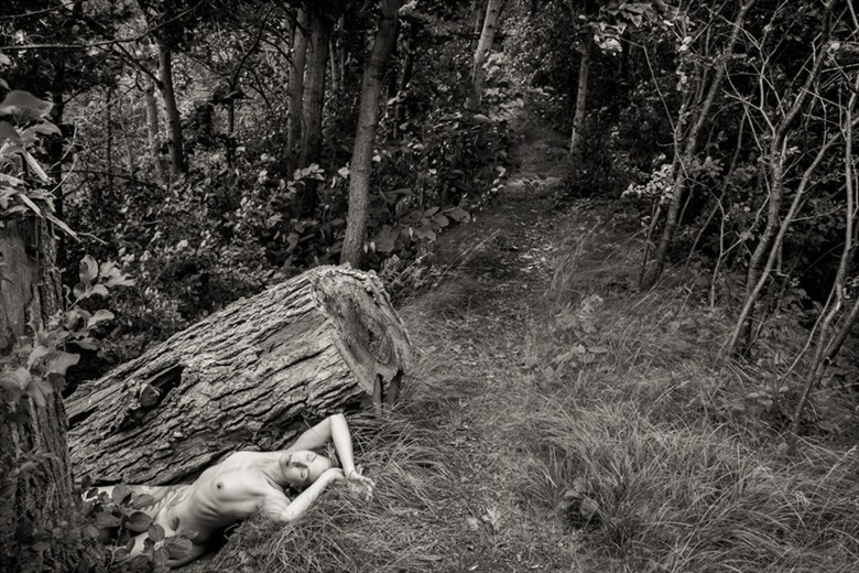 Artistic Nude Nature Artwork by Model Jen B E