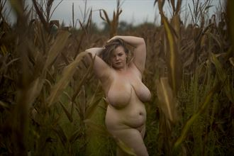 Artistic Nude Nature Artwork by Model LuluLoveModel