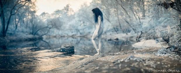 Artistic Nude Nature Artwork by Model Morgan Rose