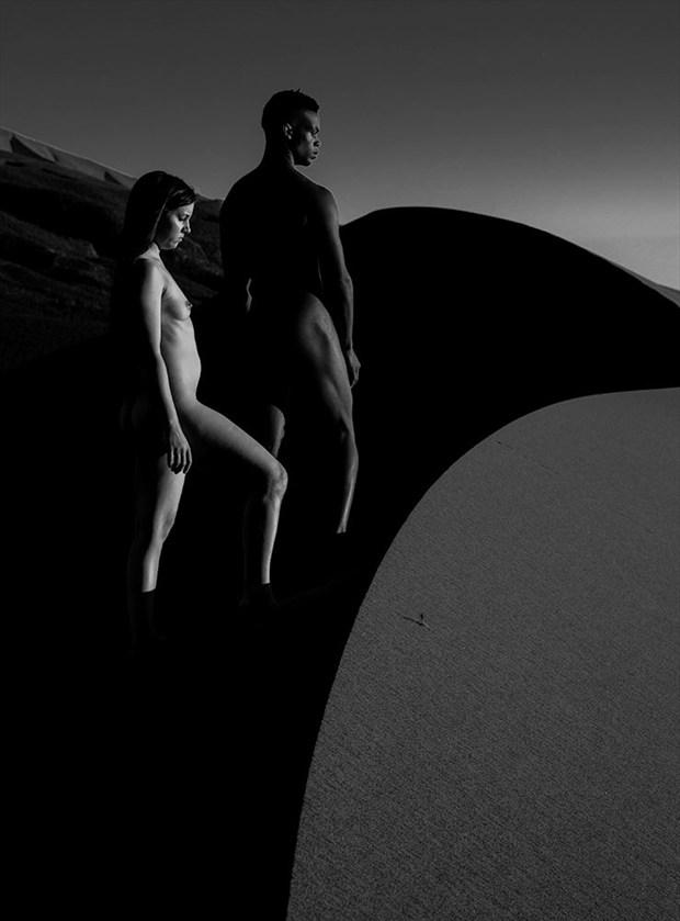 Artistic Nude Nature Artwork by Model Solomon