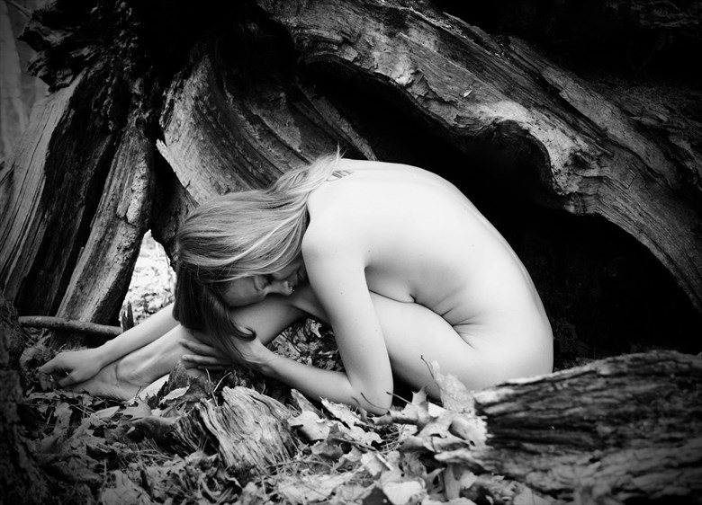 Artistic Nude Nature Artwork by Model Ursa Minor