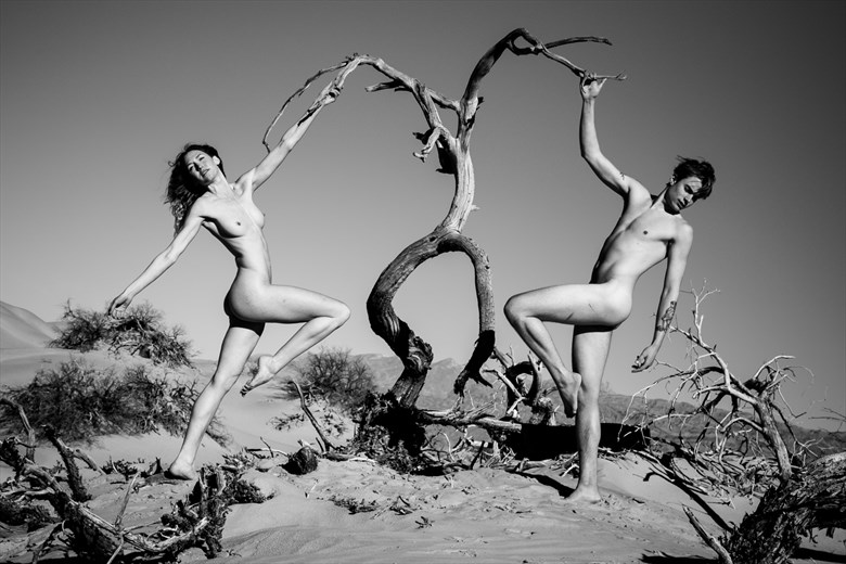 Artistic Nude Nature Photo by Artist April Alston McKay