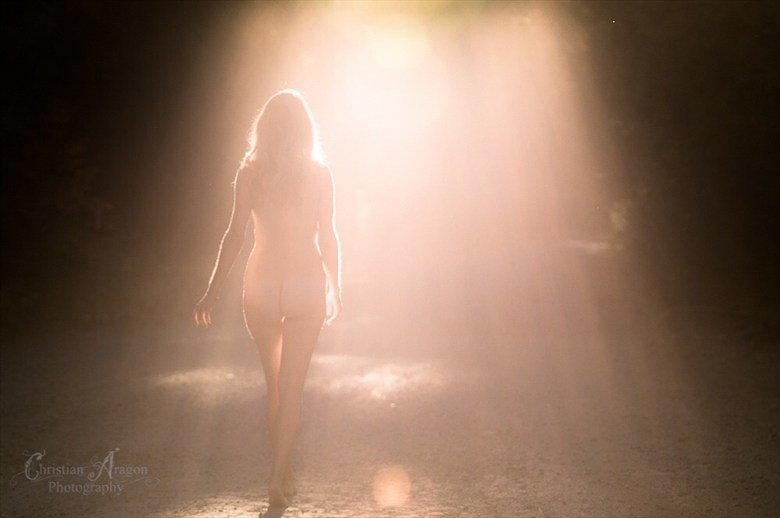 Artistic Nude Nature Photo by Artist Christian Aragon