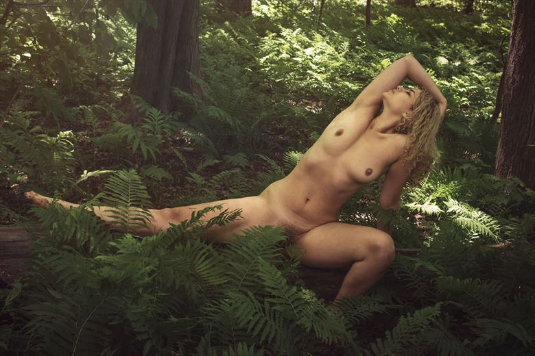 Artistic Nude Nature Photo by Model Abiblue