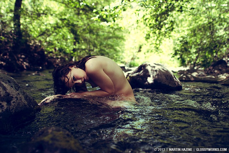 Artistic Nude Nature Photo by Model Aemilia
