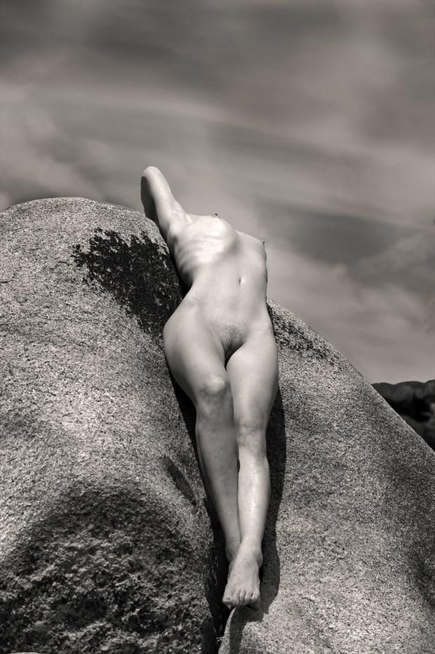 Artistic Nude Nature Photo by Model Amadea