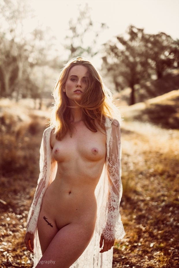 Artistic Nude Nature Photo by Model Amy Heather