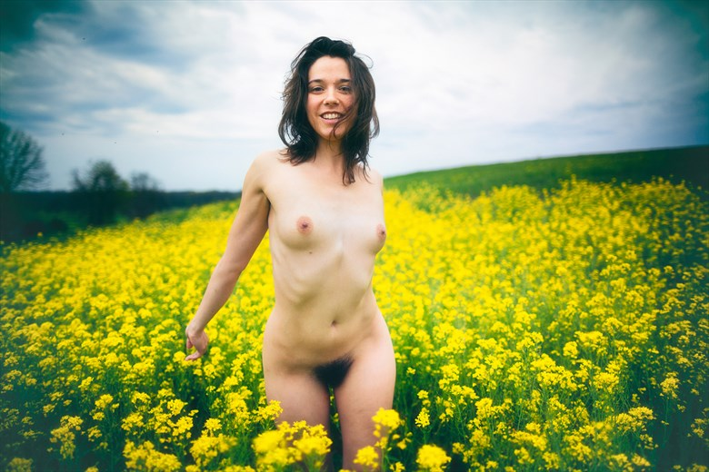 Artistic Nude Nature Photo by Model Amy Marie