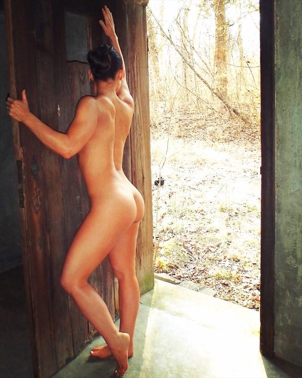 Artistic Nude Nature Photo by Model AnayaVivian