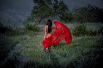 Artistic Nude Nature Photo by Model April A McKay