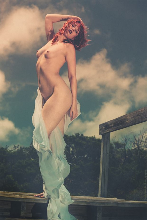 Artistic Nude Nature Photo by Model Astrid Von Winter