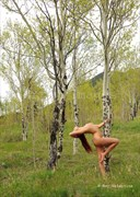 Artistic Nude Nature Photo by Model Aurora Red