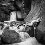 Artistic Nude Nature Photo by Model Bella F.
