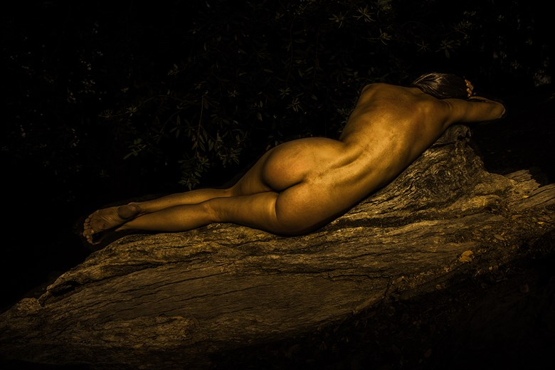Artistic Nude Nature Photo by Model Catalina Cruise