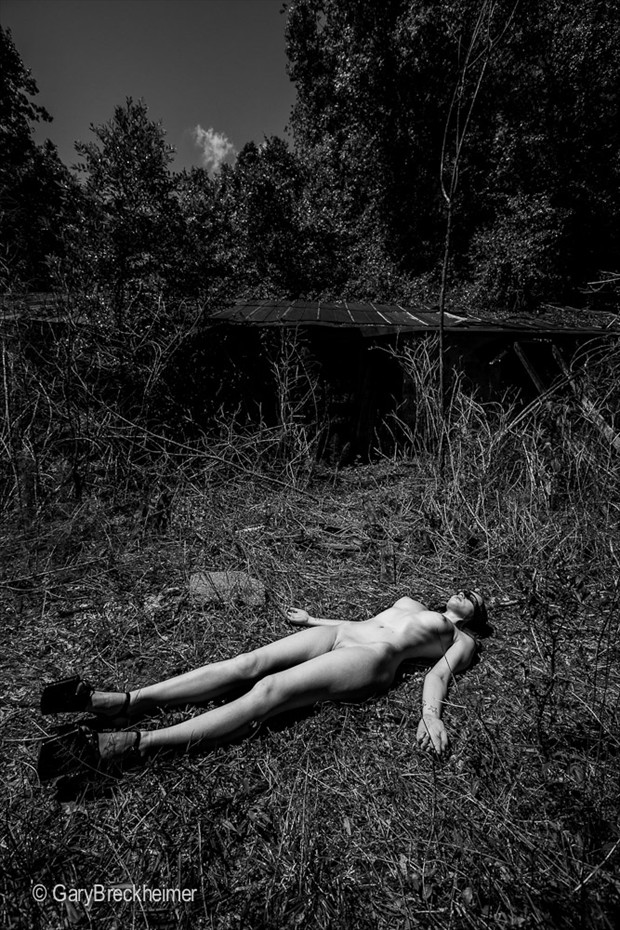 Artistic Nude Nature Photo by Model Chelsea Christian