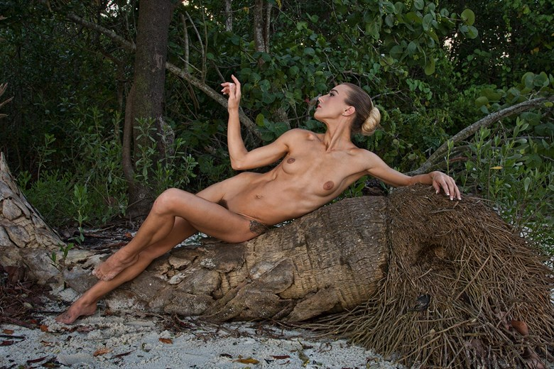 Artistic Nude Nature Photo by Model Chelsea Jo