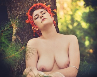 Artistic Nude Nature Photo by Model Dahliaa Black