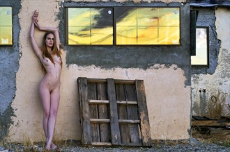 Artistic Nude Nature Photo by Model Damianne