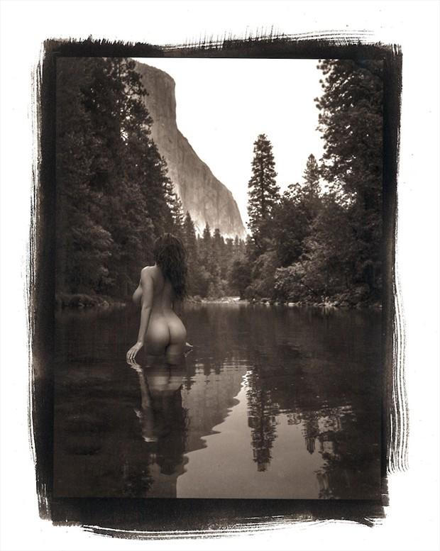 Artistic Nude Nature Photo by Model Devi