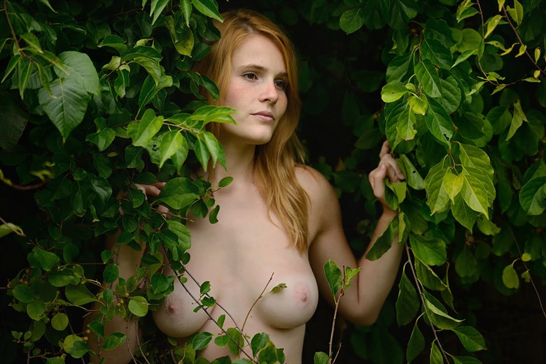 Artistic Nude Nature Photo by Model Eleanor