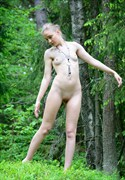Artistic Nude Nature Photo by Model Elina