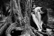 Artistic Nude Nature Photo by Model Elle Beth